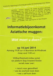 exot. muggen infobyeenkomst 16-06-14 Wilfred Reinhold
